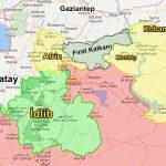 idlibin 2018 haritası