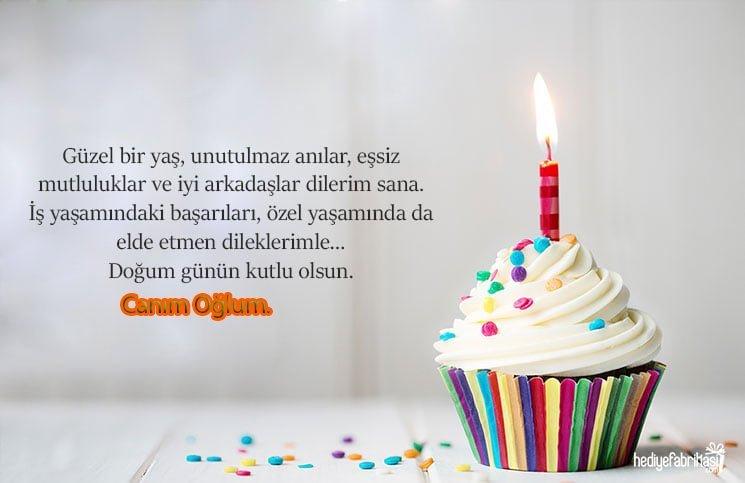 anneden oğluna doğum günü mesajı