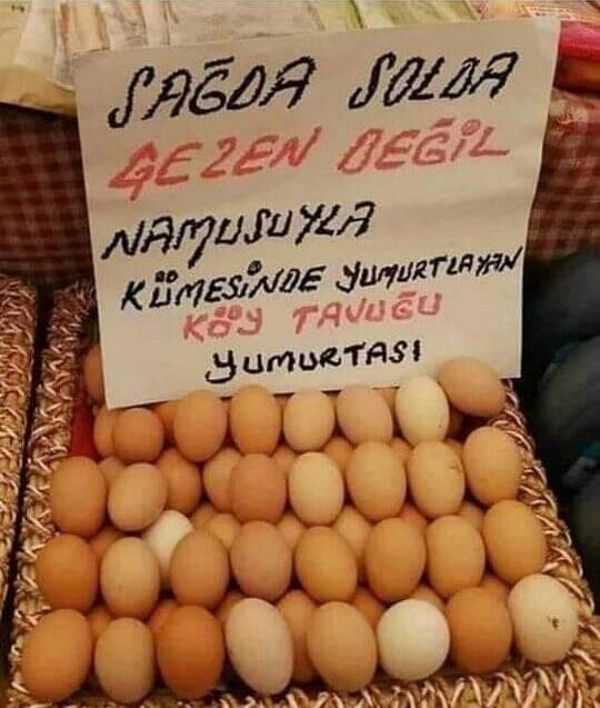 Yumurta komik sözler