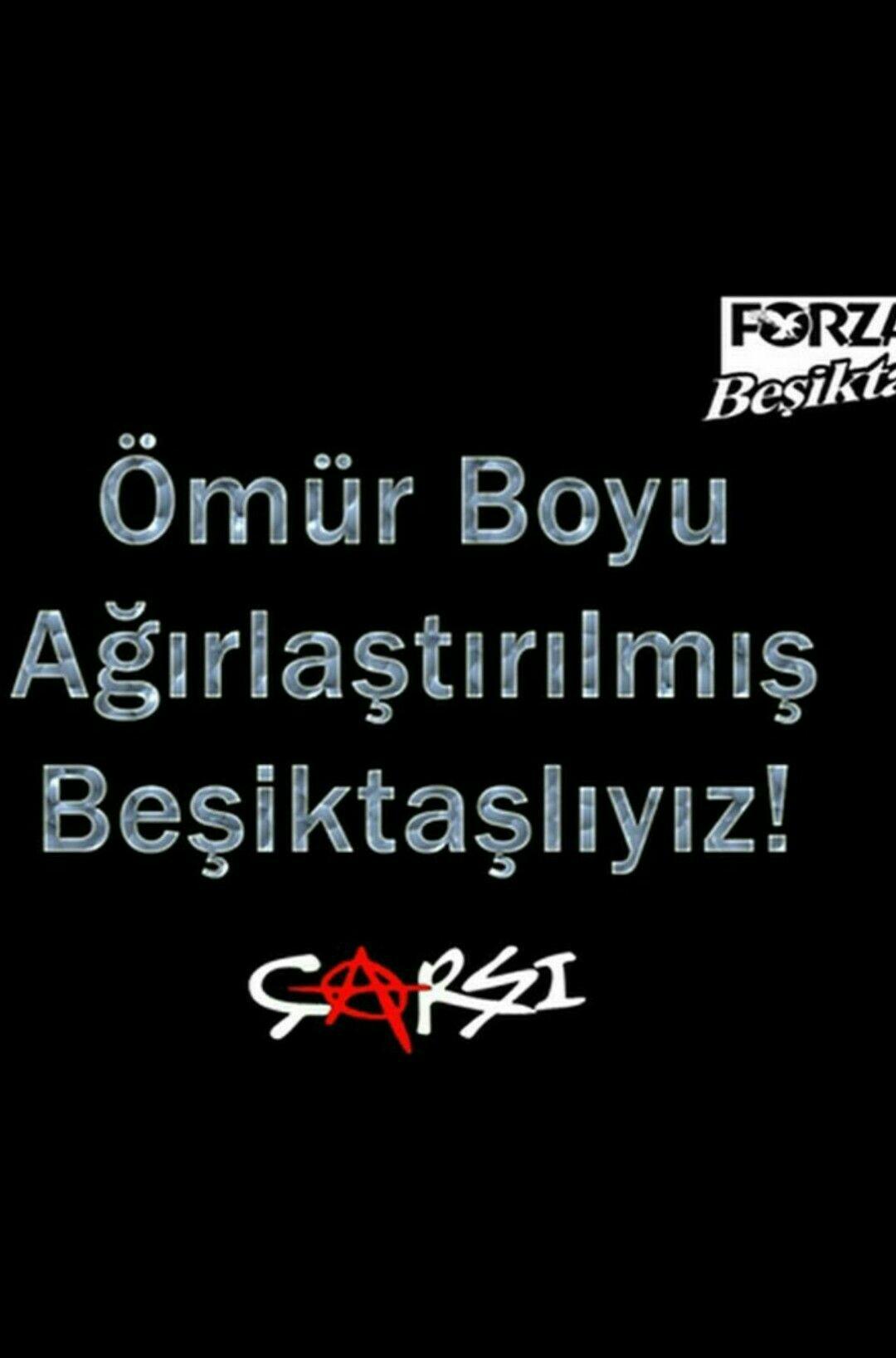 Beşiktaş aşk sözleri