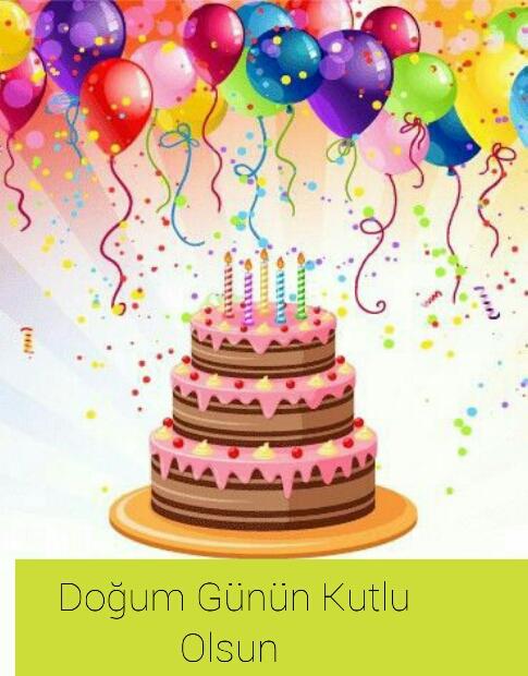 Resimli doğum günü mesajı indir