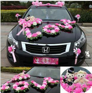 Düğün Arabası Süsleme Resimleri