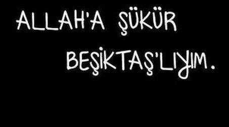 Beşiktaş sözleri Twitter