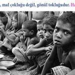 açlık ile ilgili resimli hadisler