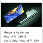 5G  Özellikli Xiaomi mi mix 3 Tanıtım Yapıldı