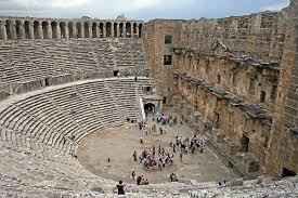 Aspendos Antik Kenti Tarihi : Aspendos antik tiyatrosu antik kent tarihi eser belkıs Ören