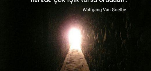 Gölge ve ışık ile ilgili sözler