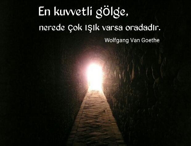 Karanlık Aydınlık Sözleri Güzel Sözler