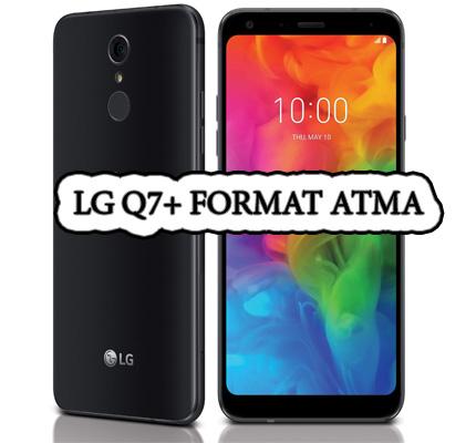 LG Q7+ telofon sıfırlama yedek alma