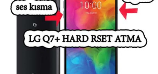 LG Q7+ ekran desenimi unuttum