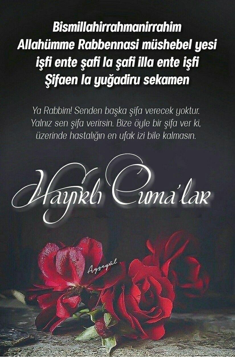 Cuma günü mesajı facebook