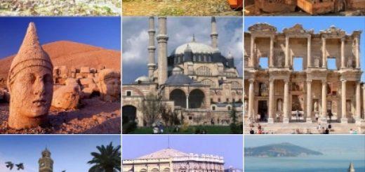 Türkiyedeki tarihi yerler