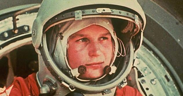 Valentina Tereshkova rus paraşütcü