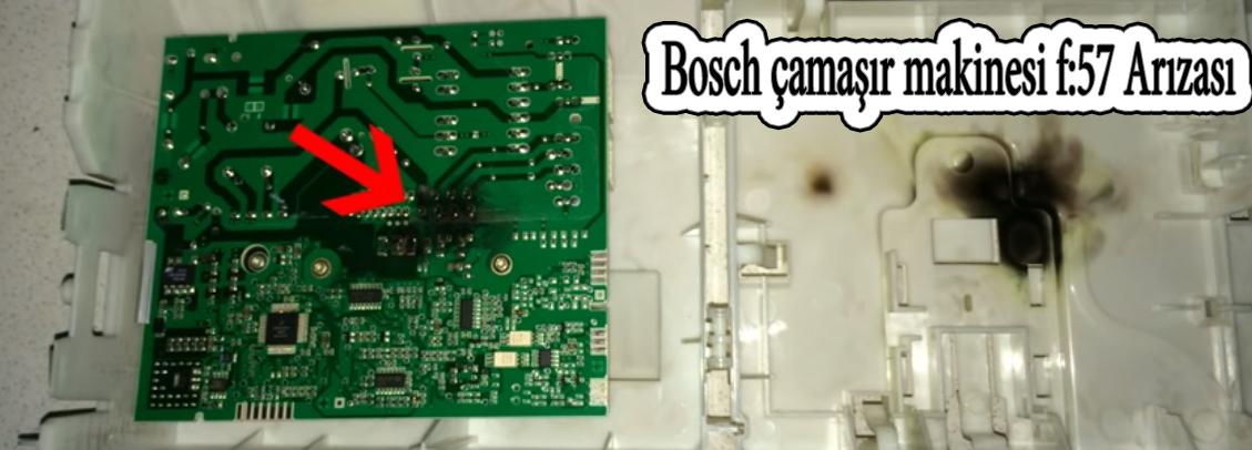 bosch camasir f57 hatası var sorun nedir