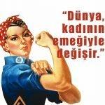 5 Aralık Kadın Hakları Günü Resimli Mesajlar