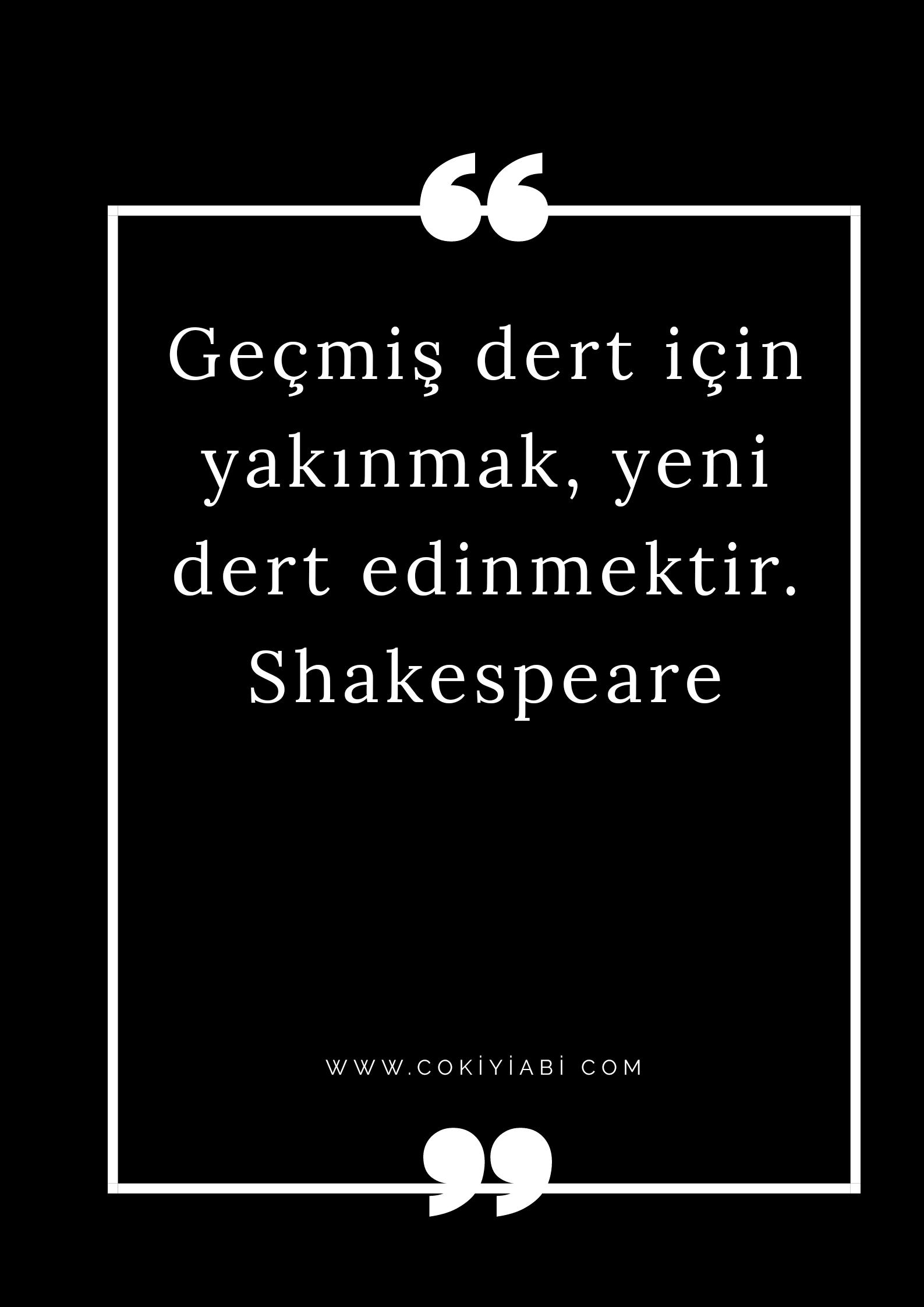 Shakespeare sözleri