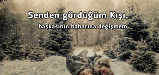 Sevgiliye en güzel kış sözleri