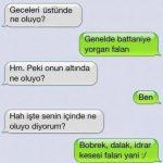 En Komik Whatsapp Sevgili Konuşmaları