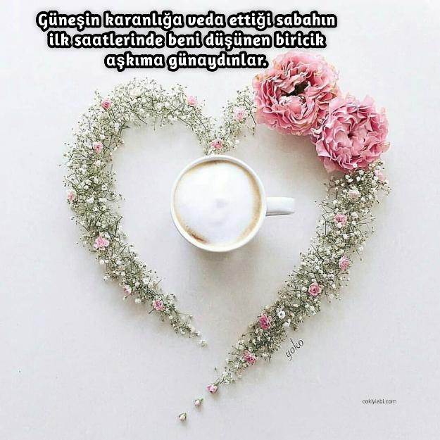 Aşkıma günaydın mesajları