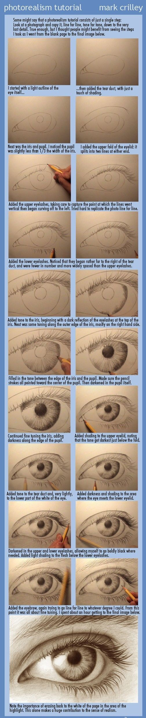 Göz nasıl çizilir karakalem