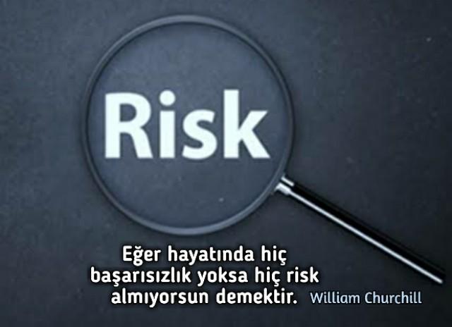 Risk Almak ile ilgili Anlamlı Sözler