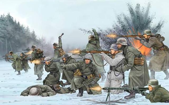 2.Dünya Savaşının Anlatan Çizimler