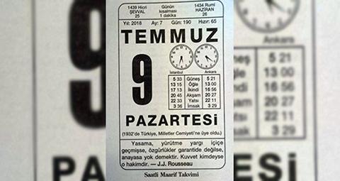 Türkçedeki Gün İsimleri Nereden Geliyor