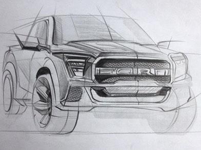 karakalem araba çizimleri