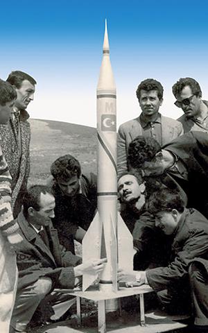 İlk Yerli Roket Yapımı Bandırma Roket Kulübü 1963