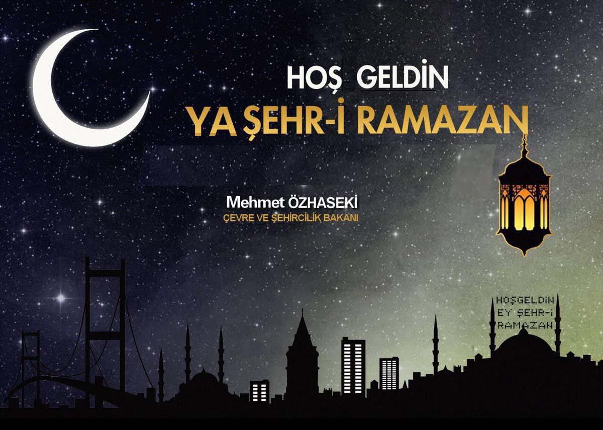 Hoş Geldin Ya Şehr-i Ramazan Resimleri ve  Mesajları