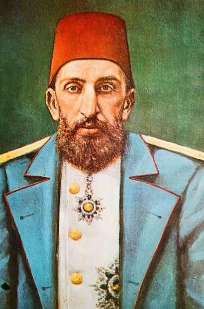 Ortaköy Ermeni Okulu Çocuklarının Sultan 2. Abdülhamit'e okudukları övgü şiiri