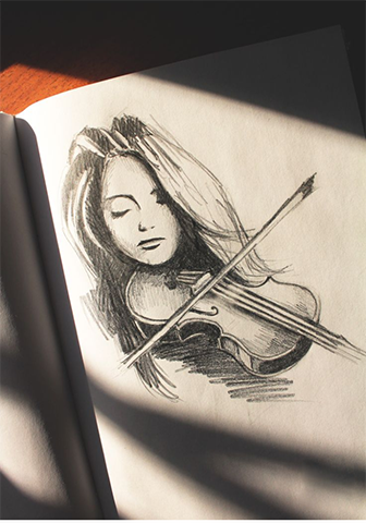 Kara Kalem Kadın Çizimleri En yeniler