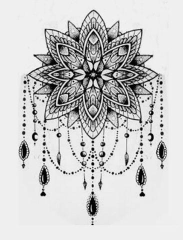 Karakalem Motif Çizimleri
