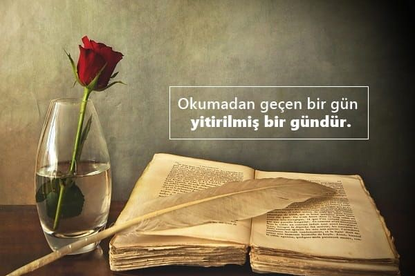 Kitap Okumayanlara sözler