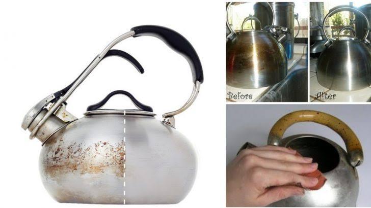 Çaydanlık Parlatma Yöntemleri