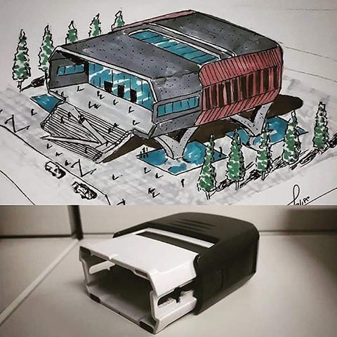 ilginç Mimari Çizimler