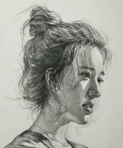 Karakalem Kadın Çizimleri
