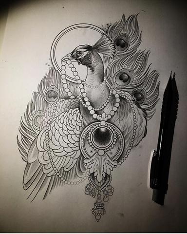 Birbirinden Güzel Kuğu Çizimleri