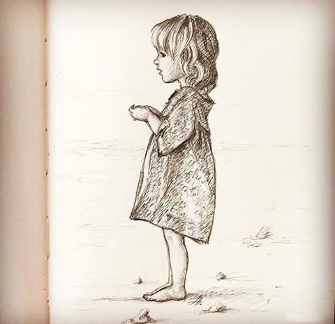 Karakalem Çocuk Çizimleri - Güzel Sözler ve Bilgi Kütüphanesi