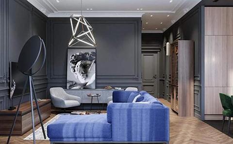 Modern Odaları İle Yeni Evler