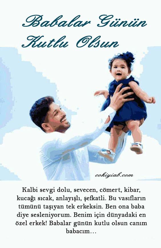resimli en güzel babalar günü mesajı