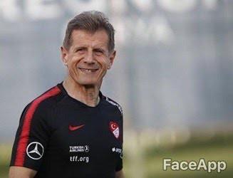Futbolcuların yaşlanmış halleri