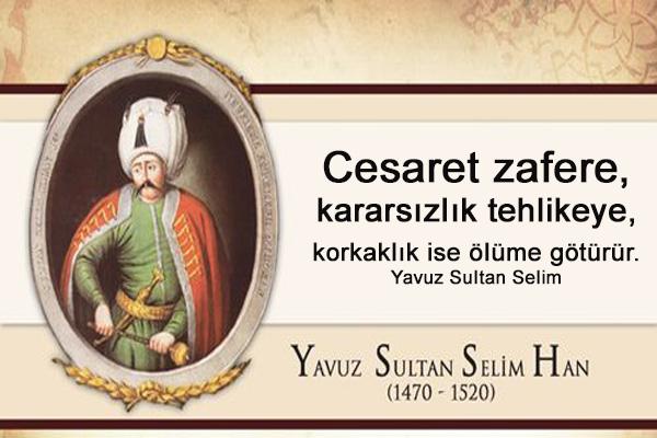 yavuz sultan süleyman resimli sözleri