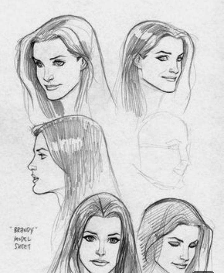 Karakalem Kadın Sac Modelleri (Yeni)