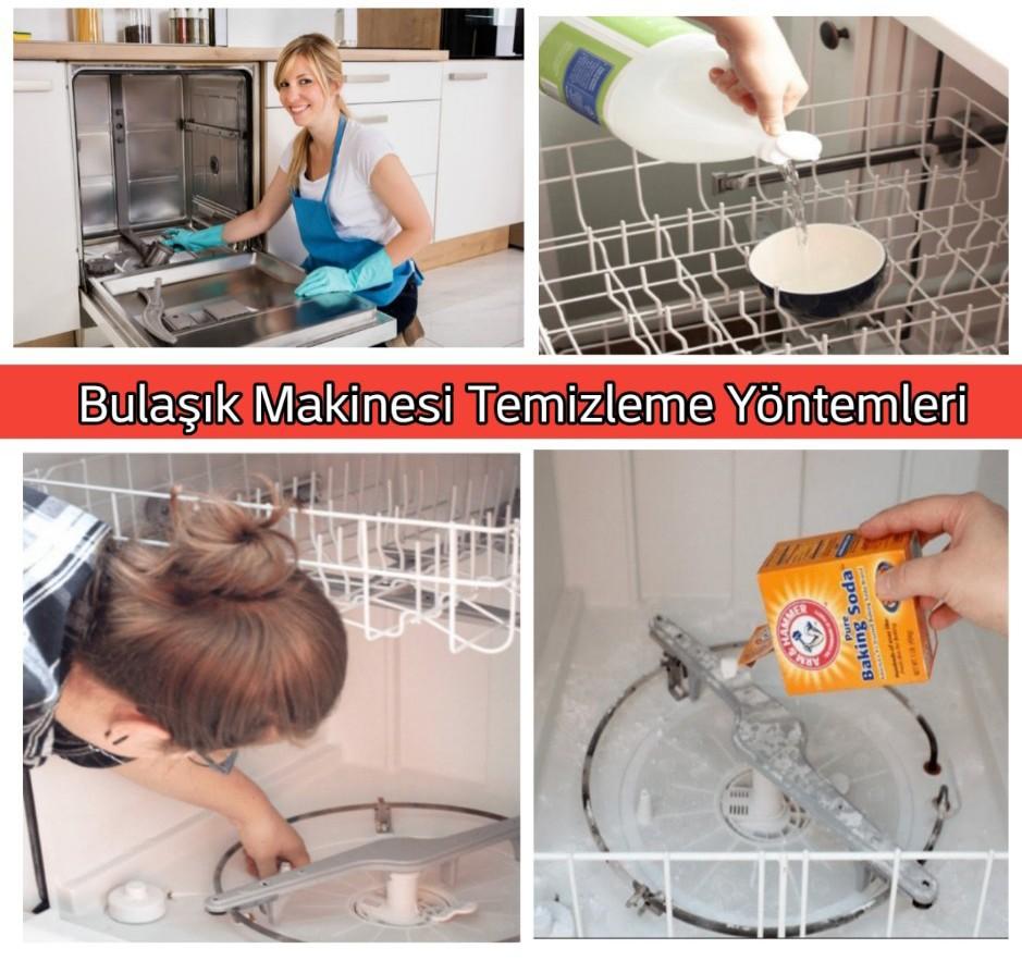 Bulaşık makinesi temizleme