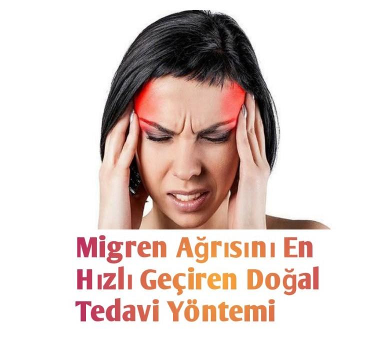 Migren Ağrısını En Hızlı Geçiren Doğal Tedavi Yöntemi