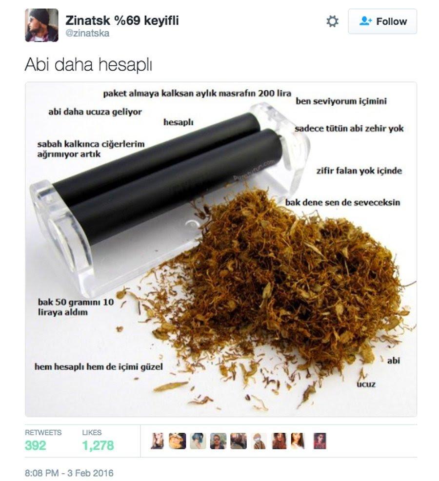 Sigara Zama İsyan Eden 13 KomiknTweet