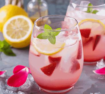 Limon gül suyu