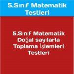 5.sınıf matematik doğal sayılar toplama işlemi problemi
