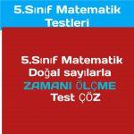 5.sınıf doğal sayılar test çöz